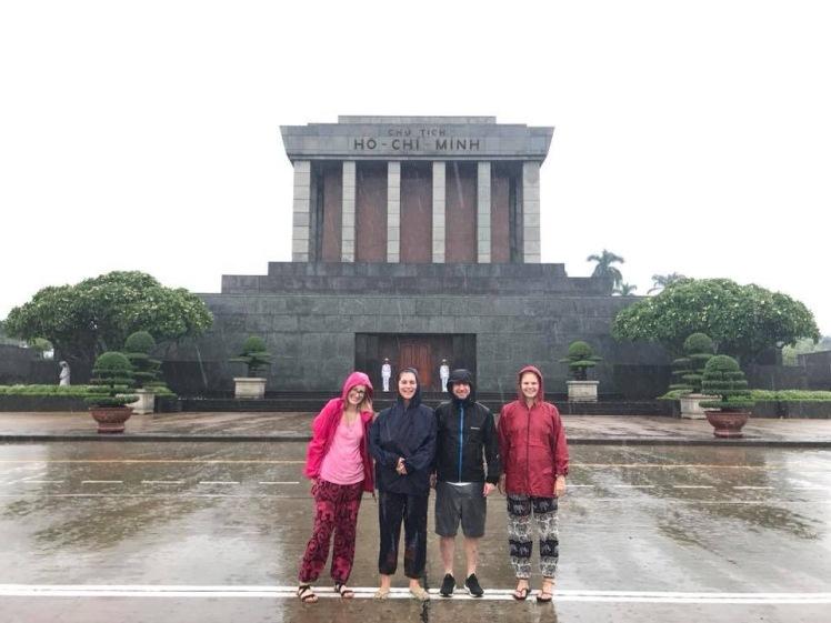 A rainy Ho Chi Minh Mauseleum